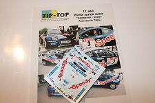 DECALS 1/43 FORD PUMA S1600 BERNARDI RALLYE AUXERROIS 2002 RALLY WRC