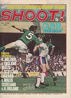 SHOOT! Football Magazine 4 June 1977 - QUEENS PARK RANGERS Double Page Photo