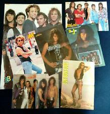 7x Original Retro 90s BON JOVI Magazine Centrefold Posters