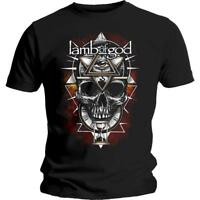 OFFICIAL LICENSED - LAMB OF GOD - ALL SEEING RED T SHIRT - HEAVY METAL