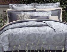 Sferra NATISSA Euro Continental Pillow Sham Indigo Paisley Cotton Sateen New