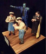 Aurora Monster Scenes Strange Frankenstein( Spooked out )4 figure resin kit