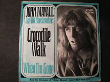 JOHN MAYALL - crocodile walk SINGLE 7""