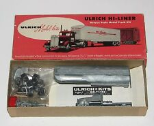 Ulrich Kenworth Truck & Tanker Trailer Kit--New Old Stock---HO SCALE