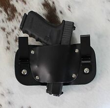 IWB Holster for Glock 22/23/27 .40 Cal. | In the Waistband Leather Holster USA