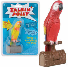 TALKIN' POLLY PARROT VOICE RECORDING TOY BOYS GIRLS GIFT BIRTHDAY PRESENT GADGET
