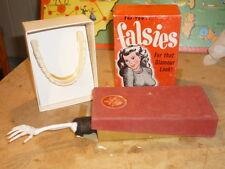 ANCIEN USA 1950 FISHLOVE FALSIE GADGET  SQUELETTE FETE FORAINE  BOITE CIRQUE JEU