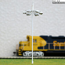 10 pcs OO or HO scale Plaza Lamp Model Lamppost 12V street lights Layout Scenery