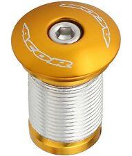 "Acor 1.1/8"" Compression Compressor Headset Topcap  for Carbon Steerer Alloy Gold"