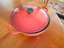 LE CREUSET #22 2-5/8 QT Cast Iron-Enamel Soup Pot