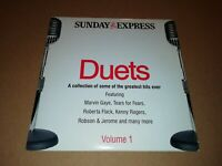 V/A * DUETS ( VOLUME 1 ) * SUNDAY EXPRESS PROMO CD ALBUM EXCELLENT
