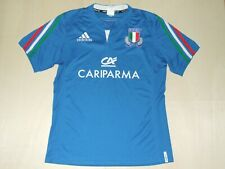 Shirt Trikot Maillot Rugby Sport Italy Italy Size L