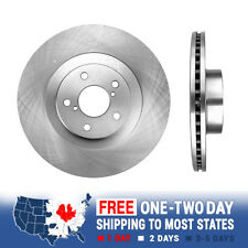 Front 277 mm OE Brake Disc Rotors And Ceramic Pads Set For Impreza BRZ