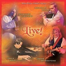 FREE US SHIP. on ANY 3+ CDs! NEW CD David Arkenstone, Nicholas Gunn,: Live! CD+D