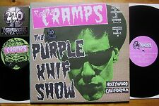 Radio Cramps - The Purple Knif Show Spain Munster MR 151 Lux Interior TOP Mint