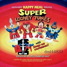 1991 McDonalds Super Looney Tunes MIP Complete Set - Lot of 4, Boys & Girls, 3+