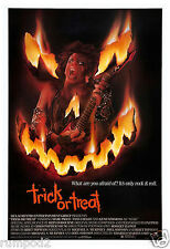 Movie Poster/Music Poster/60's/70' /80's/'Trick or Treat'/Horror Rock Poster
