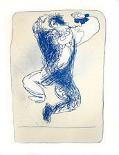 Limited Edition Vintage Print -Juan Garcia Ripolles - Arlequin Leaping Hand Sign
