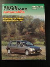 Revue Technique Automobile Clio Diesel