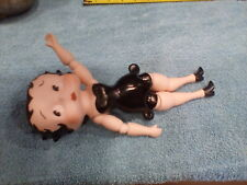 "Vtg Betty Boop Porcelain Jointed 9"" Figure Doll"