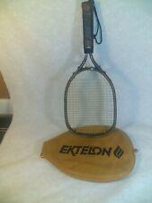 Vintage Ektelon X-Small Marathon Graphite Racquetball Racket With Zip Cover