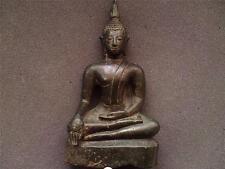 Thai Siam Ayutthaya period (1350-1767) bronze buddha figure 18th century