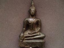 Thai Siam Ayutthaya période (1350-1767) Bronze Buddha figure 18th Siècle