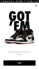 Nike Air Jordan 1 Retro High OG NRG Not For Resale - Size 13- Order Confirmed
