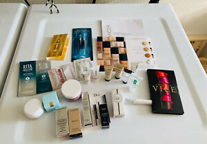 (24) Various Designer Sample Lot ~ Creams, Lotions, etc ~ Lancome, Lauder, Aveda