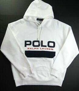 POLO RALPH LAUREN Men's Big & Tall Mesh Cotton Blend Pullover Hoodie NEW NWT