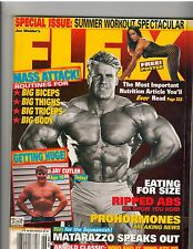 FLEX muscle bodybuilding magazine/JAY CUTLER/Jenny Worth 6-00 w/ poster
