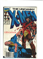 Uncanny X-Men #276 VF 8.0 Newsstand Marvel Comics 1991 Jim Lee Art, Wolverine