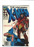 Uncanny X-Men #276 VF 8.0 Newsstand Marvel Comics 1991 Jim Lee Art, Wolverine