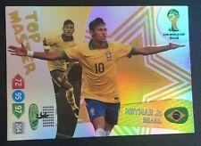 Panini Adrenalyn XL World Cup 2014 Neymar Jr. Top Master card