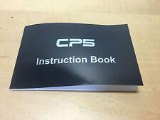 CP5 Montre - Instruction Livre - Manuel - English - Pour Collectionneurs