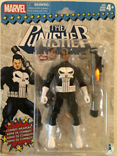 "Marvel Retro Series The Punisher 6"" Classic Vintage Look New Sealed 2017"