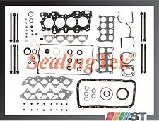 Fit Acura Integra B18C1 B18C5 VTEC Engine Full Gasket Set w/ Head Bolt Kit motor