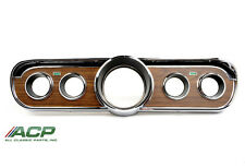 1965-66 Ford Mustang Instrument Bezel or Cluster for Pony or Deluxe Interior