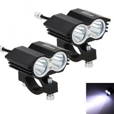2Pcs 30W 2x XM-T6 LED Motorcycle Boat Spot Driving Headlight Fog Light Lamp
