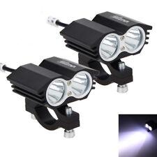 2Pcs 30W 2x XM-T6 LED Motorcycle Boat Spot Driving Headlight Fog Light Lamp