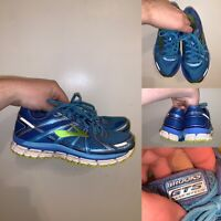 Brooks GTS 17 Womens Size 8 Running Shoes Lace Up Blue Comfort Breathable