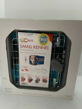 Sport Pet Designs Pop Crate Small Kennel 25lb or less Blue Collapsing Kennel NIB