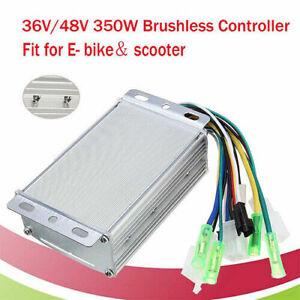 36V/48V 350W Brushless Dc Moteur Vitesse Contrôleur pour Électrique Trottinette