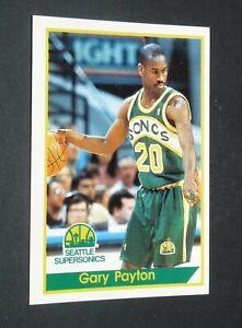 #210 GARY PAYTON SEATTLE SUPERSONICS PANINI BASKETBALL NBA USA 1994-1995 94-95
