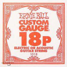 Cordes Ernie Ball en acier inoxydable pour guitare et basse