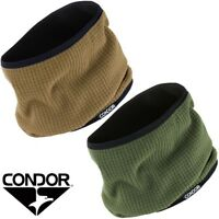 CONDOR REVERSABLE NECK WARMER MICRO-FLEECE NECK GAITER SCARF POLYESTER EASY CARE