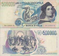 """500.000 lire 1997 """"Raffaello"""" Serie speciale X"""