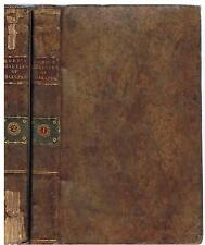 The Beauties of Shakespeare by Rev William DODD, 2 vols, tree calf full leather