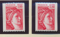 France Stamps Scott #1579A To 1579B, Mint Never Hinged