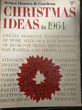 BETTER HOMES & GARDEN MAGAZINE *CHRISTMAS IDEAS FOR 1964*